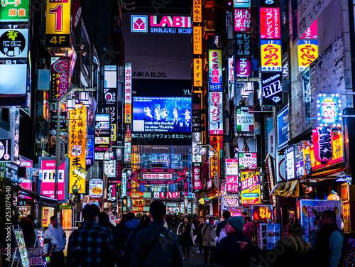 Canvas Print Japon, tourisme, voyage, ville, Tokyo, Kyoto