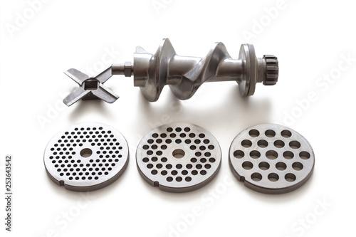 Fotografia, Obraz Spare parts for meat grinder