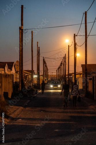 Valokuvatapetti Township Khayelitsha, Cape Town