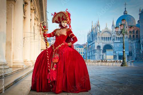 Obraz na płótnie Karneval in Venedig