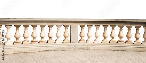 Fotografía railing isolated