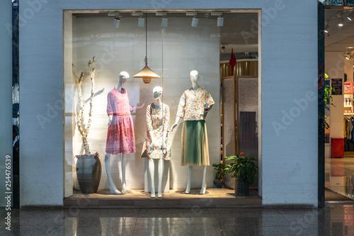 mannequin dressed in clothes Fototapeta