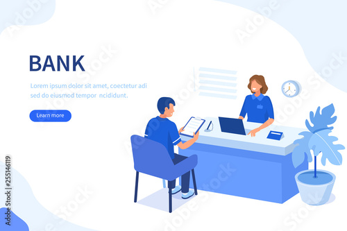 Slika na platnu bank