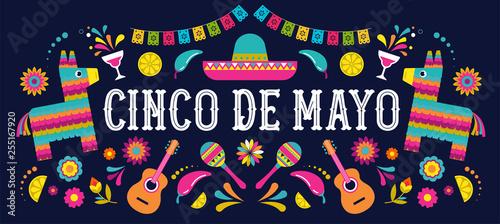 Fotografía Cinco de Mayo - May 5, federal holiday in Mexico