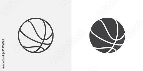 Fotografija Basketball ball icon