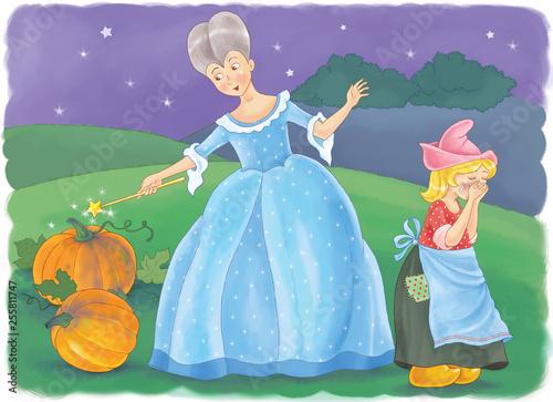 Cinderella Fototapet