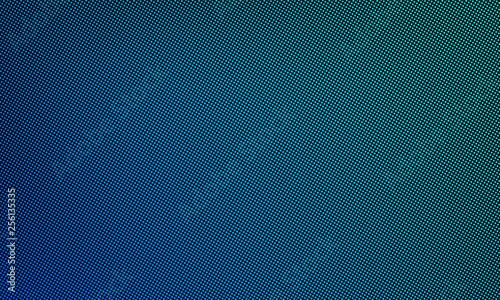 LED video wall screen texture background. Vector digital blue light LED dot mesh gradient pattern