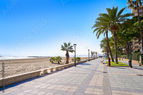Benicassim Voramar playa beach Castellon Fototapeta