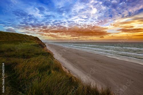 Canvas Print coastline