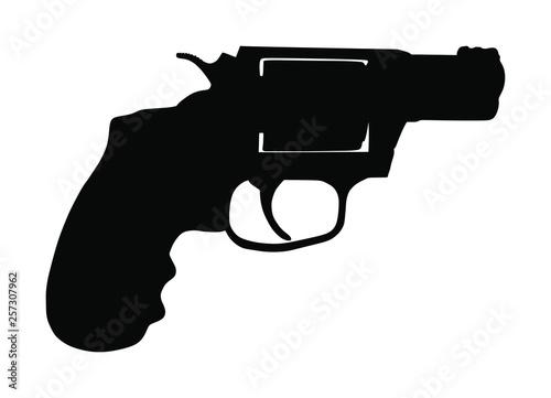Fototapeta Revolver symbol
