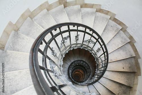 Canvas Print Spiral stairs
