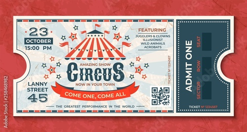 Foto Circus tickets