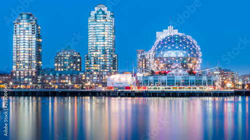 Canvas Print Vancouver, British Columbia, Canada