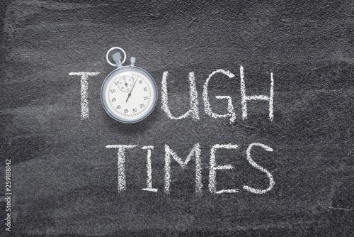 Fotografia, Obraz tough times watch