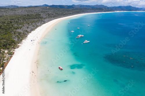 Obraz na płótnie White Haven Beach Whitsundays - Queensland Australia