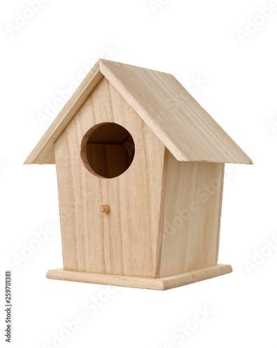 Obraz na płótnie Wooden bird nesting box