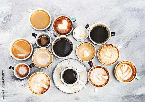 Fotografija Coffee cup collection