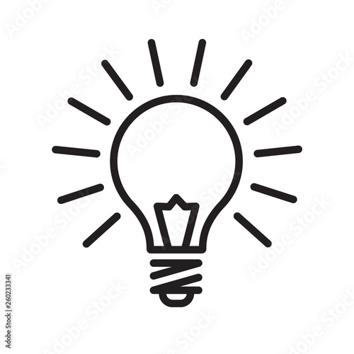 Fotografering Light bulb