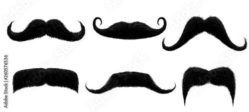 Canvas Print Vintage moustache