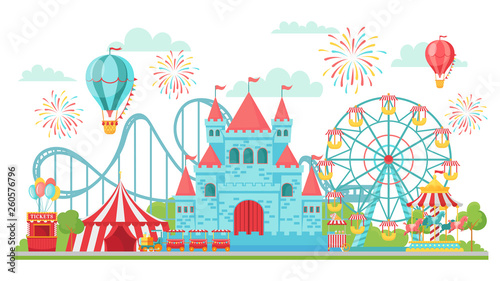 Valokuva Amusement park