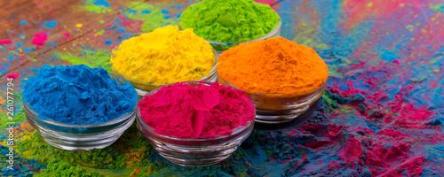 Fotografie, Tablou Holi color powder