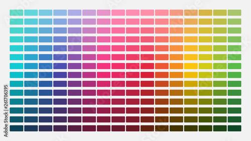 Canvas Print Color palette