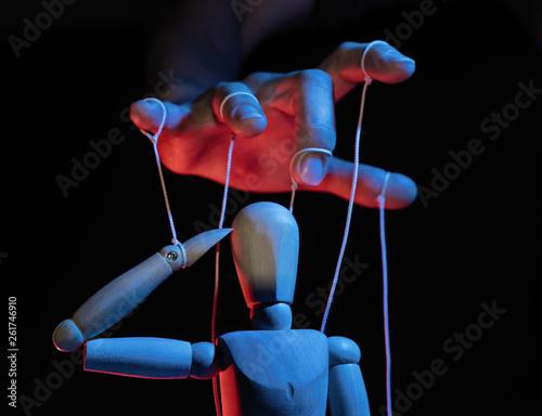 Obraz na plátně Concept of control
