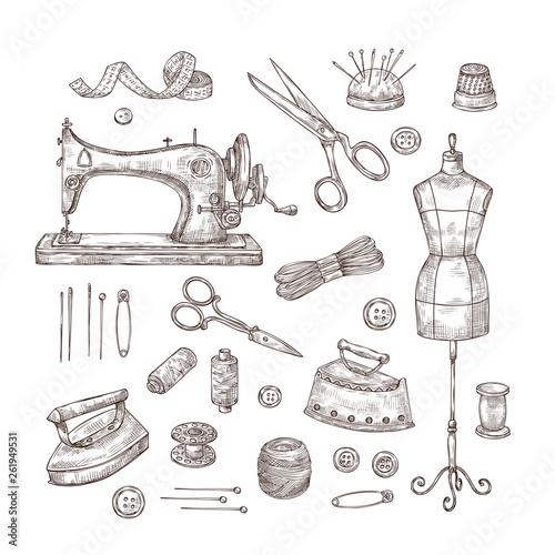 Tailor shop Fototapet