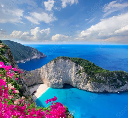 Fototapeta Beautiful lanscape of Zakinthos island