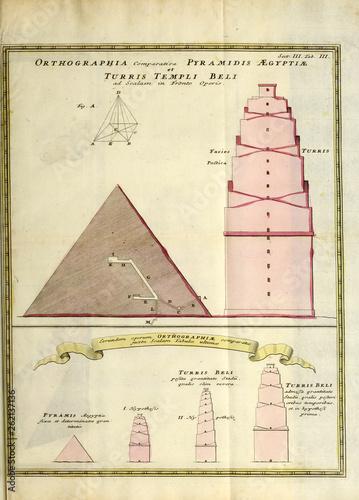 Babel tower Tapéta, Fotótapéta