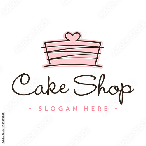 Stampa su Tela Bakery Logo Icon Template