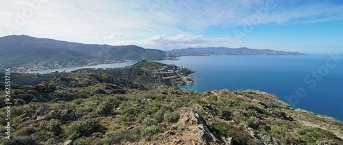 Slika na platnu Spain coastal panorama near El Port de la Selva in the Cap de Creus natural park