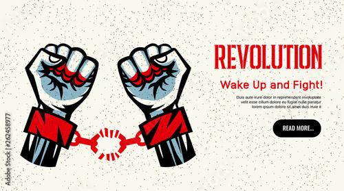 Fotografia Revolution Concept Homepage Design