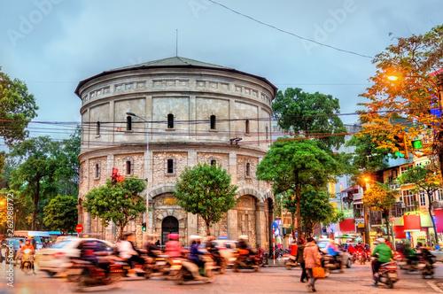 Hang Dau Water Tower in Hanoi, Vietnam