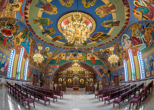 Wallpaper Mural Interior of the Annunciation Byzantine Catholic Church of Homer Glen, Illinois