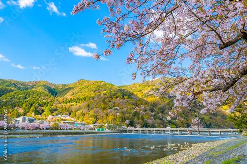 京都・嵐山・渡月橋