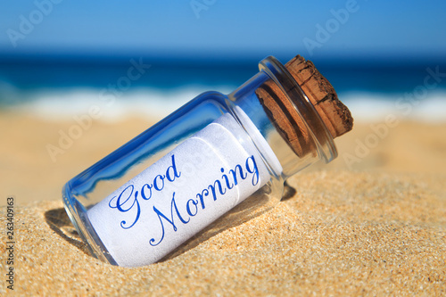 Canvas-taulu Good Morning