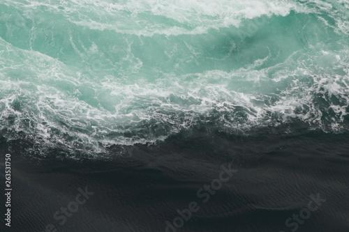 Fototapeta Whirlpools of the maelstrom of Saltstraumen, Nordland, Norway