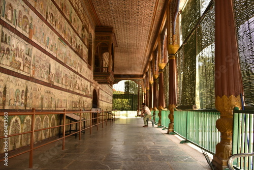 Obraz na plátně Daria Daulat Bagh (Summer Palace) , Srirangapatna, Karnataka, India