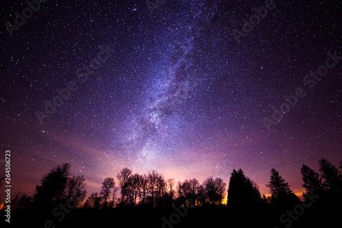 Carta da parati milky way galaxy from Cherry Springs State Park