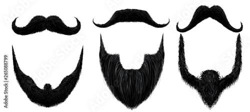 Photo Moustache and beard