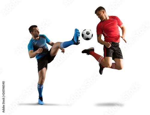 Football player in action Fototapeta