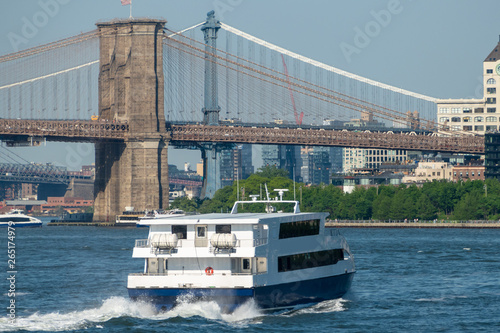 Photo ferry downtown New York City