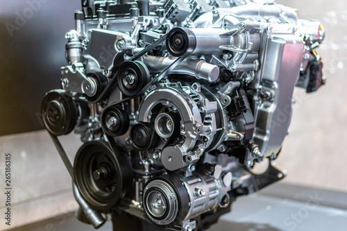 Billede på lærred detail of engine