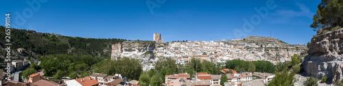 Panoramic of Alcala del jucar