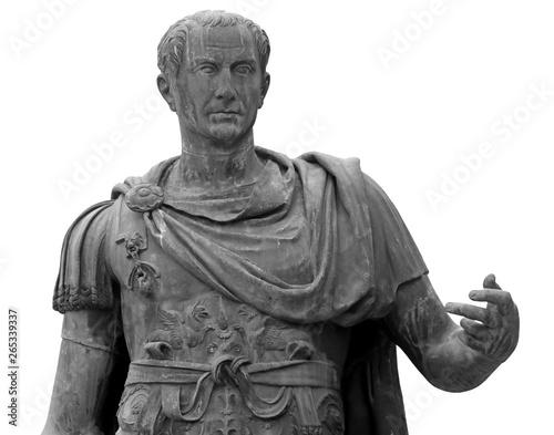 Fotografia statue of Julius Caesar in Rome