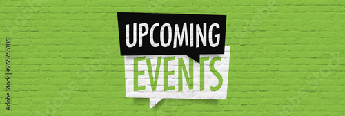 Tableau sur Toile Upcoming events