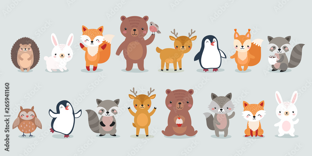 woodland characters