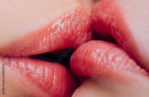 Hot kissing lesbian The Hottest