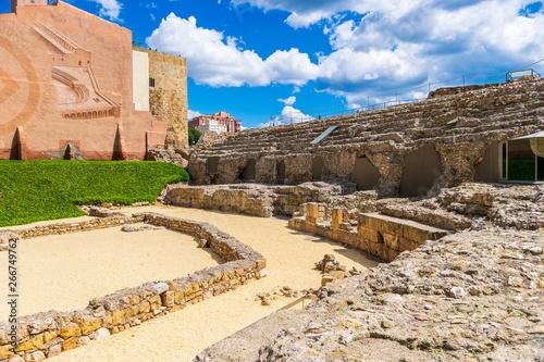 Ancient roman circus in Tarragona